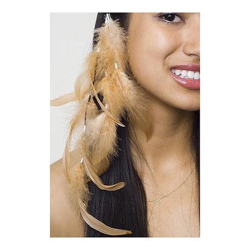 Rooster Schlappen Corded Multi Tassel Hair Clip