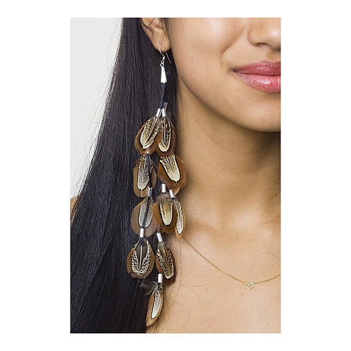 Ringneck Almond Naturals Earring