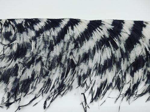 Ostrich Fringe 2ply, By The Yard - Tie-Dye Pattern