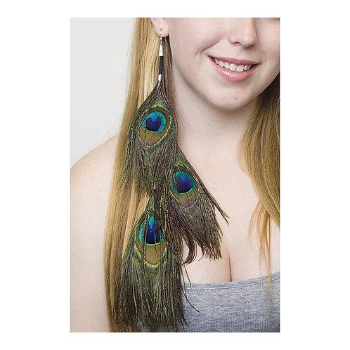 Peacock Eye Earring