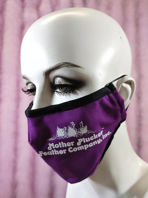 Mother Plucker Official Face Mask