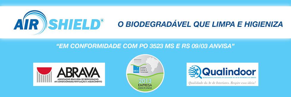 Limpador bactericida biodegradável de ar condicionado