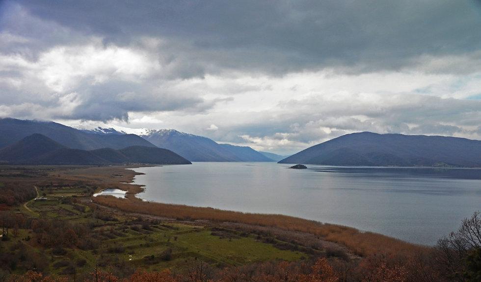 Landscape of Prespes Lakes