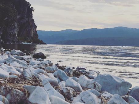 Καθαρισμός της παραλίας της Γιάντσας στις Πρέσπες