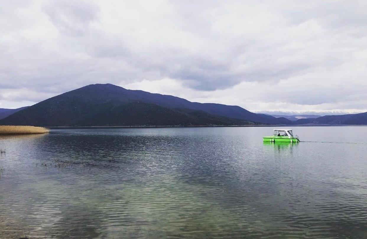 Solar Boat Trip From Mikrolimni