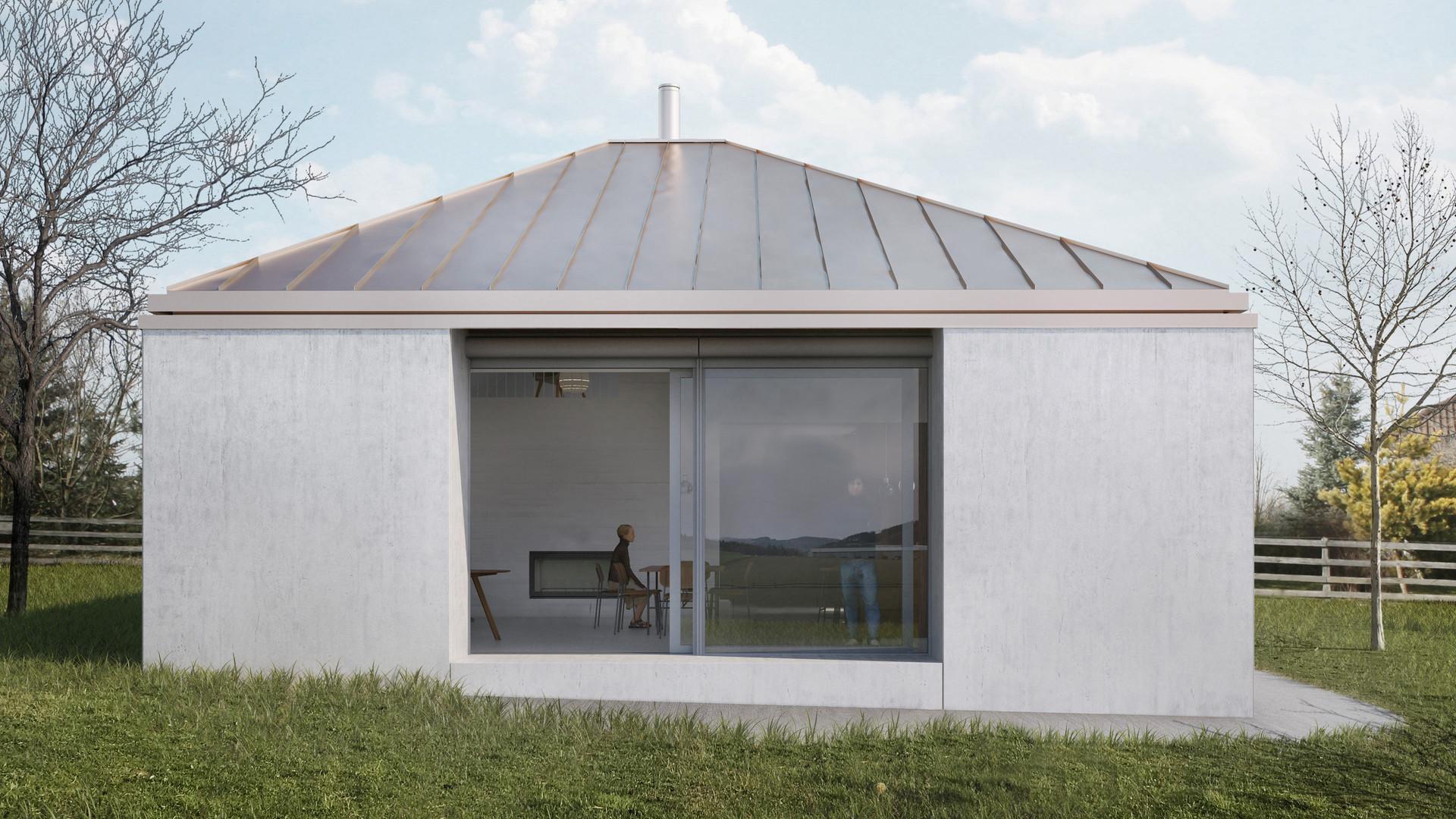 Rodinný dům v Pošumaví