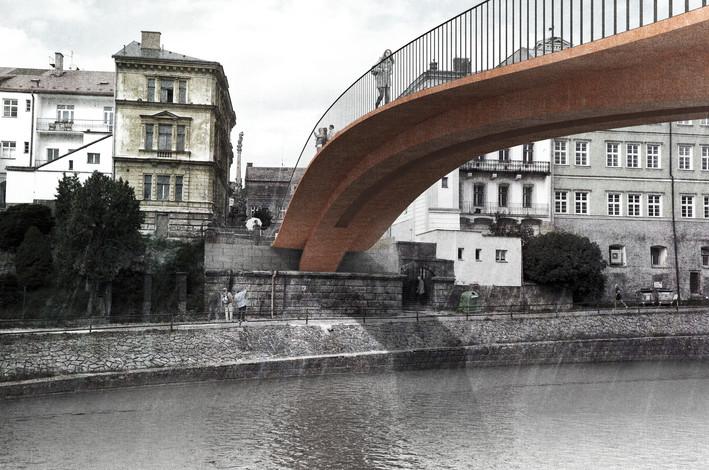 Komenského most, Jaroměř