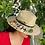 Thumbnail: Sombrero de palma pintado a mano