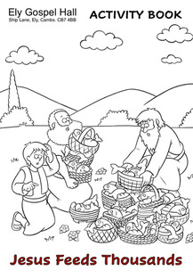 Jesus Feeds Thousands Activity Book (dra