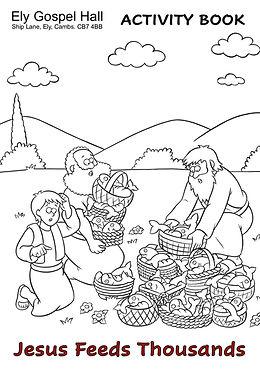 Jesus Feeds Thousands Activity Book (dra