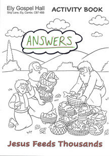 Jesus Feeds Thousands Activity Book ANSW