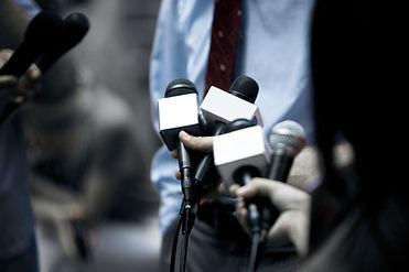 news briefing interview