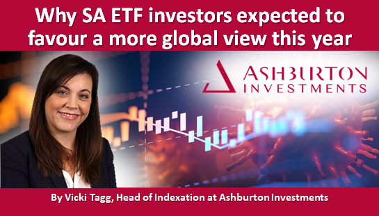 Why SA ETF investors expected to favour a more global view this year