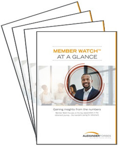 Member Watch 2018 At a glance