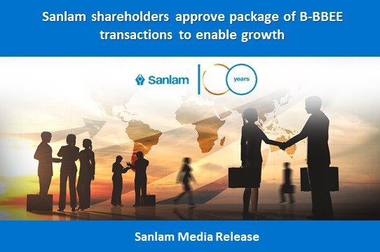 Sanlam shareholders approve package of B-BBEE transactions to enable growth