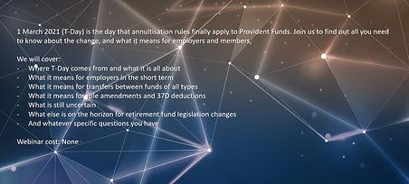 77849DI EB Provident Fund Annuitisation