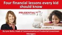 Four financial lessons every kid should know