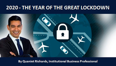 2020 - THE YEAR OF THE GREAT LOCKDOWN