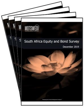 Motswedi Emerging Manager Strategists December 2019 Equity and Bond survey