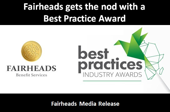 Fairheads Benefit Services wins IRFA Best Practice Award for guardian roadshows