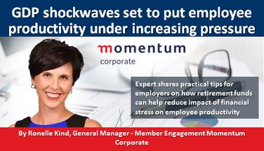 GDP shockwaves set to put employee productivity under increasing pressure