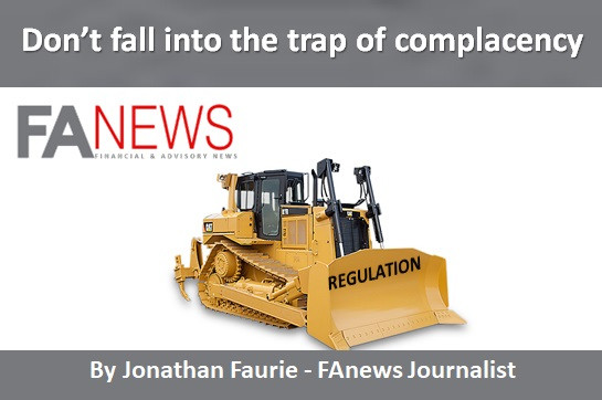 Don't fall into the trap of complacency