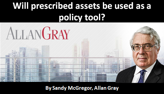 Will prescribed assets be used as a policy tool?