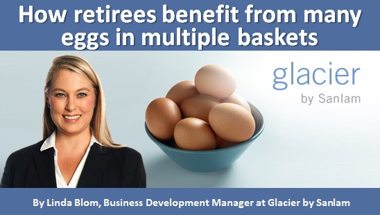 How retirees benefit from many eggs in multiple baskets