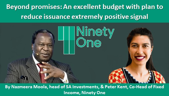 Beyond promises: An excellent budget with plan to reduce issuance extremely positive signal