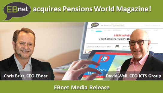 EBnet acquires Pensions World Magazine!