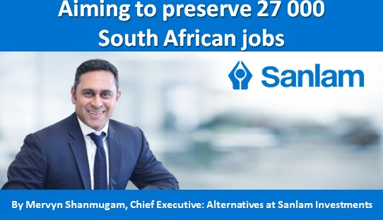 Aiming to preserve 27 000 South African jobs