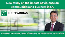 New study on the impact of violence on communities and business in SA