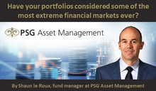 Have your portfolios considered some of the most extreme financial markets ever?