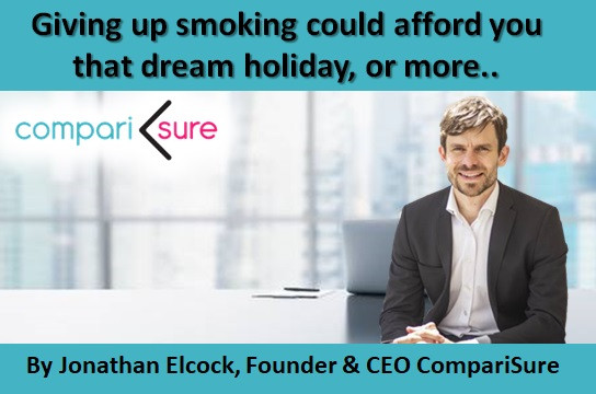 Giving up smoking could afford you that dream holiday, or more..