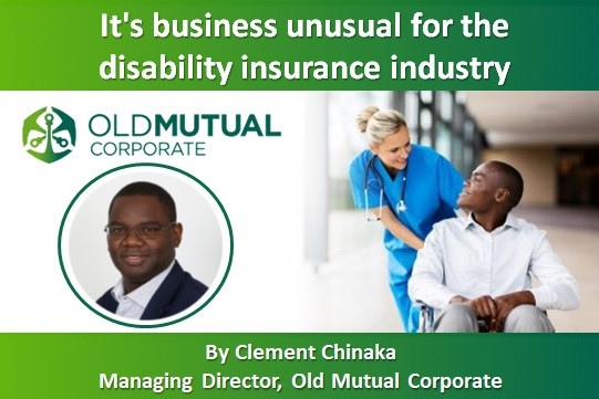 It's business unusual for the disability insurance industry