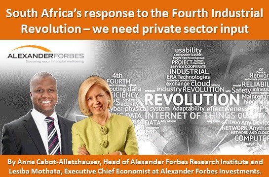 South Africa's response to the Fourth Industrial Revolution – we need private sector input