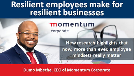 Resilient employees make for resilient businesses