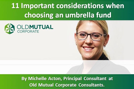 11 Important considerations when choosing an umbrella fund