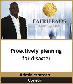Proactively planning for disaster