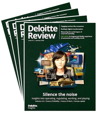 Deloitte Review 24 Silencing the noise