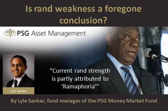 Is rand weakness a foregone conclusion?