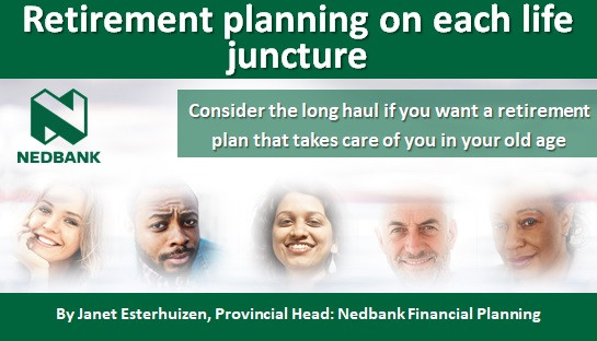 Retirement planning on each life juncture