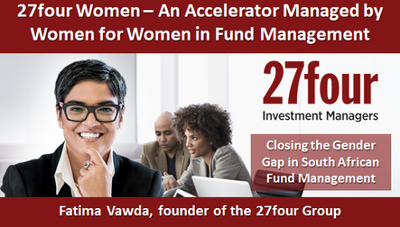 27four Women – An Accelerator Managed by Women for Women in Fund Management