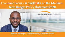 Economic Focus – A quick take on the Medium-Term Budget Policy Statement 2020