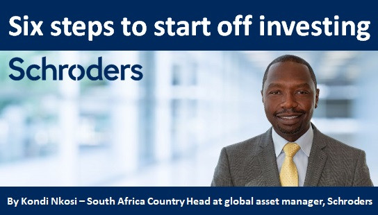 Six steps to start off investing