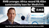 RMB arranges Africa record R8.45bn sustainability loan for Mediclinic
