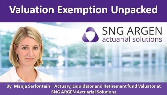 Valuation Exemption Unpacked