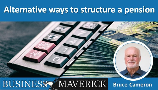 Alternative ways to structure a pension