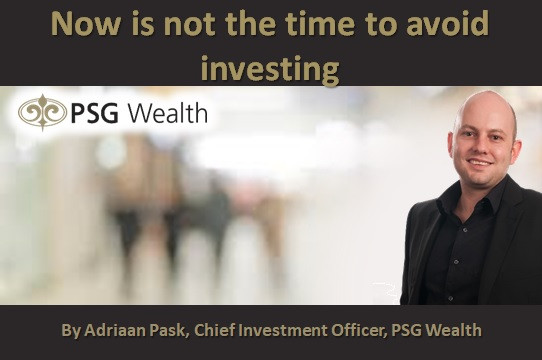 Now is not the time to avoid investing