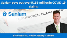 Sanlam pays out over R162-million in COVID-19 claims